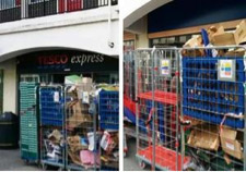 Lupus Street Tesco trolleys